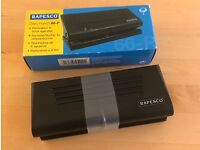 Never Used Rapesco Adjustable Diary Punch 66-P