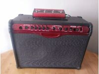 Line 6 Spider 210 50W Stereo Guitar Amplifier with 4 Channel Footswitch