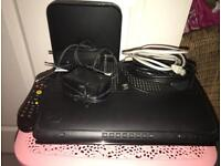 Virgin media tv box and router