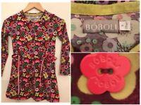 DESIGNER GIRLS 8 YEARS BOBOLI DRESS / LONG TOP EXCELLENT CONDITION £10