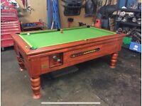 "Pub Style Slate Pool Snooker Table 6"" x 3"""
