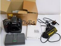 Nikon D4s Full Frame Professional Digital SLR Camera Body Only boxed (UK Model)
