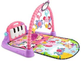Fisher Price - Piano Mat Gym - Pink & Purple