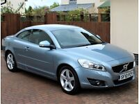 Volvo C70 Coupe/Cabriolet 2.4, 5 Speed Manual, SE Luxury Specification, Only 39614 Miles, Stunning.