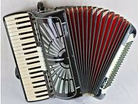 Soprani 120 Bass - 4 Voice Good Quality Italian Accordion with a Strong Powerful Sound