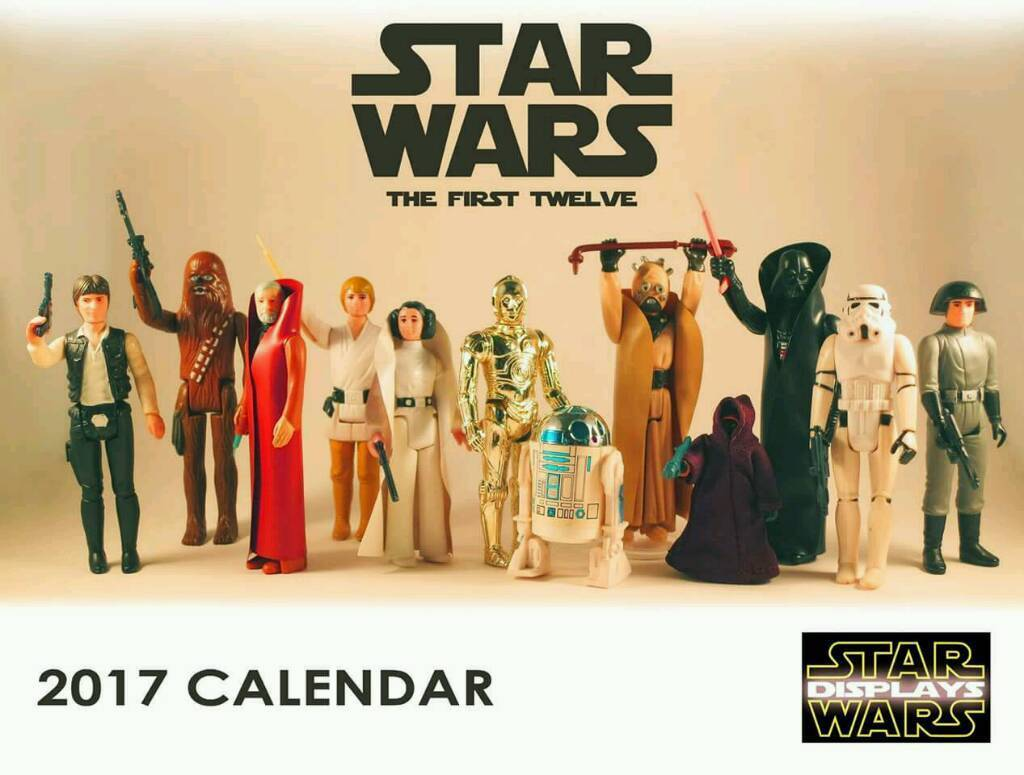 Star wars 'the first 12' 2017 calendar