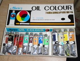Box of Oil Paints.