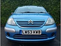 81000 MILES ONLY 2004 CITROEN C3 DESIRE 1.1 PETROL 60 BHP 3 MONTHS WARRANTY NEW CLUTCH MINT DRIVE