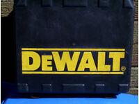 DEWALT CARRY CASE ONLY FOR DW997K2 18V CORDLESS DRILL