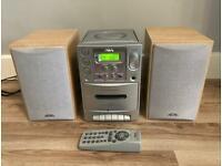 Radio CD & Cassette Player