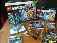 Xbox Lego dimensions with extras