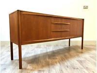 McIntosh Teak Sideboard Retro Vintage Mid Century Modern Credenza Dresser TV Unit Stand