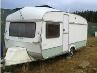 Old caravan suitable storage etc.