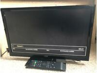 "22"" JMB Tv with DVD player"
