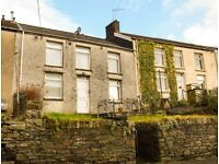 TO LET! A lovely, quaint, 2-bedroom house on High Street, Gilfach Goch. £450 PCM.