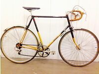 60 cm Steel road bike,, 10 speed Perfect for Inner city circles