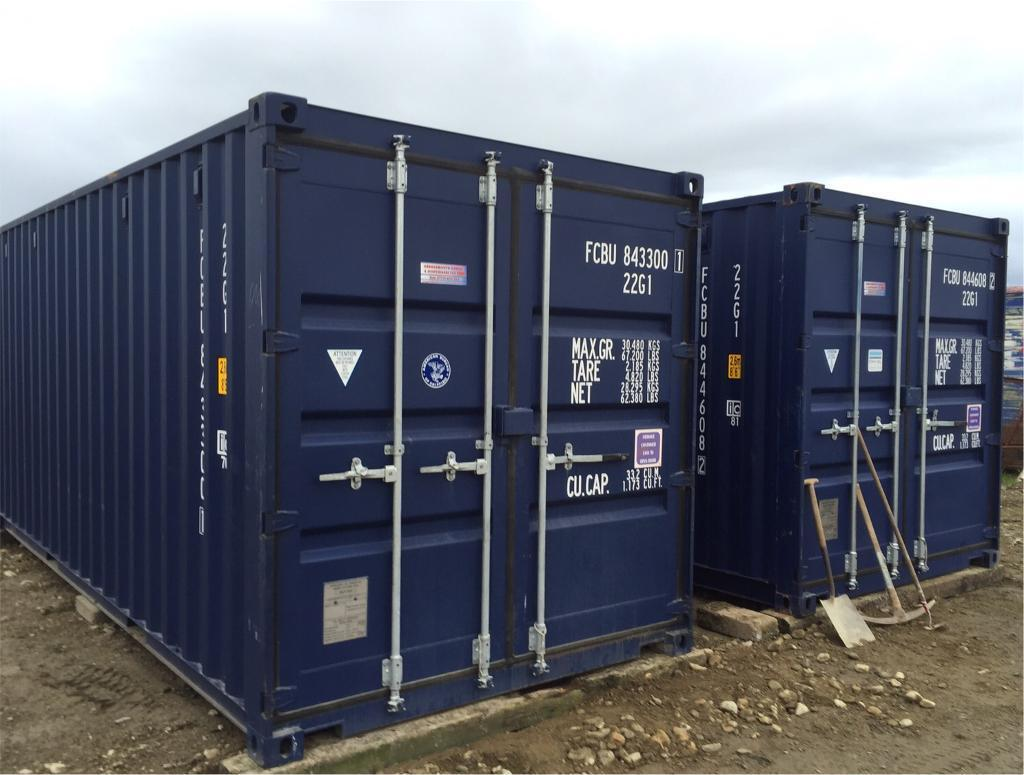 Self Storage 20ft X 8ft Containers Available Huntly