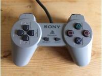 Playstation PS1 original grey controller,l