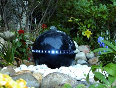 Ubbink Dubai Terrazzo Water Feature with LED Lights - 1308262 #YARD4
