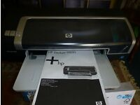 Brand new HP Deskjet 9800 colour inkjet A3 printer - never used and in mint condition