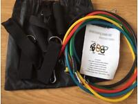 Resistant band workout kit