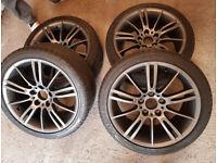 BMW 18inch MV3 193M M SPORT Wheels 3 Series E90 E92 E46 F30 Z4 Anthracite grey