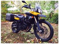 Good home needed: BMW F800GS 2009 with panniers and extras