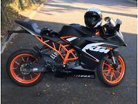KTM RC 125 motorcycle / 125cc motorbike