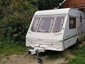 1997 Swift Classic Silhouette 2 berth Cris registered caravan