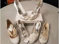 Wedding shoes bulk 21 pairs