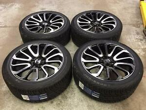 "20"" Land Rover Replica Wheels and Performance All Season Tires (RANGE ROVER)"