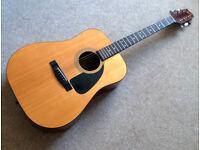 80`s Fender acoustic guitar neat mint WOW