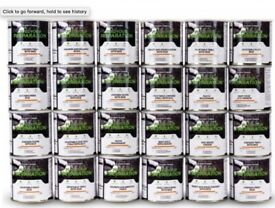 3 Months Emergency food storage for 2 has a 25 Year Shelf Life Freeze Dried Food