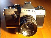 Praktica MTL5 - 35mm Film Camera - Original case and Pracktica strap