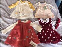 0-3 months girls dresses