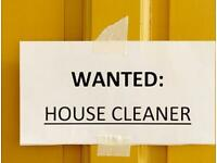 Cleaner *WANTED*