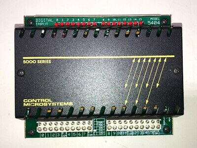 Scadapackcontrol Microsystems 5000 Series 5404 Digital Inputfree Priority Ship