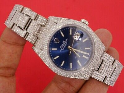 Rolex Datejust 2 Handpave Setting 1460 Diamonds 14 Carats Best Deal on Ebay