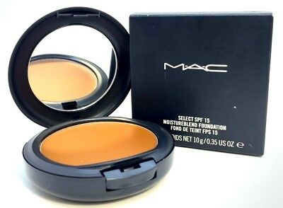 Mac Select SPF 15 MoistureBlend Foundation ~ NC50 ~ .35 oz BNIB for sale  Shipping to India