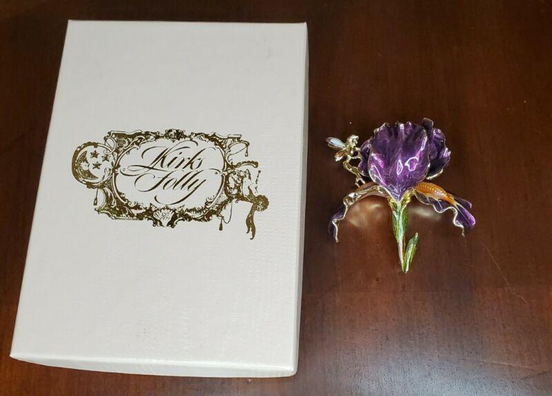 Kirks Folly Fairy and Brooch/ Pin