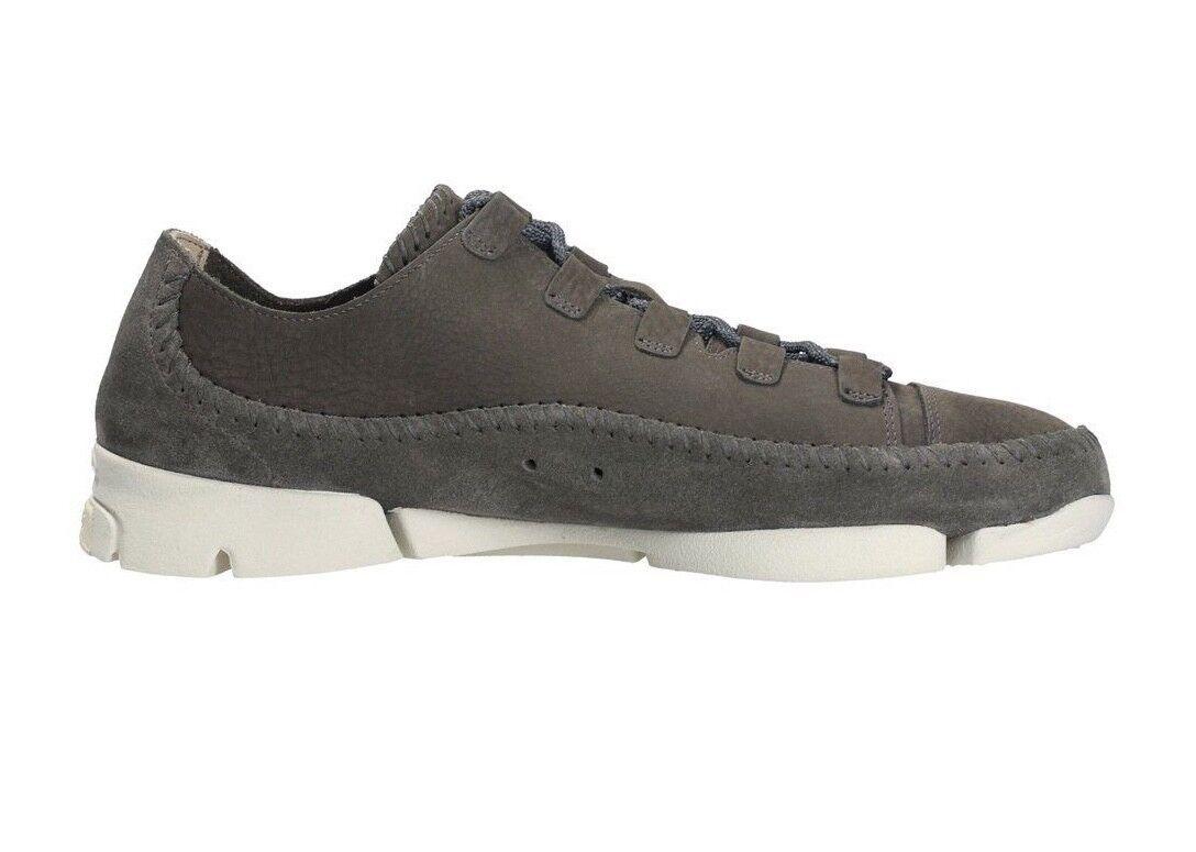 Clarks Originals Trigenic Flex 2 Grey Nubuck Casual Shoes  26128317