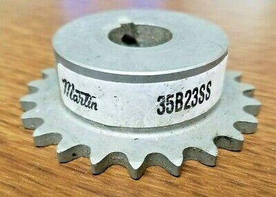 Martin Roller Stainless Steel Roller Chain Sprocket 35b23ss
