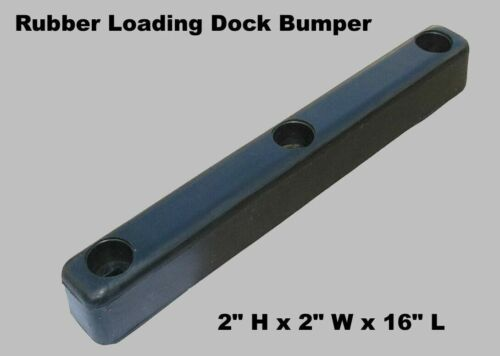 "Loading Dock Bumper 16"" Long Rubber Warehouse Trailer Truck Wall Protection"