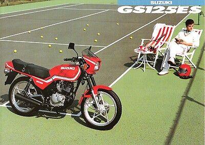 Suzuki GS125ES Japan English Sales Brochure GS125ESD