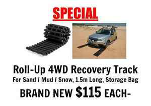 Roll-Up 4WD Recovery Track Sand/Mud/Snow 1.5M with Storage Bag Port Adelaide Port Adelaide Area Preview