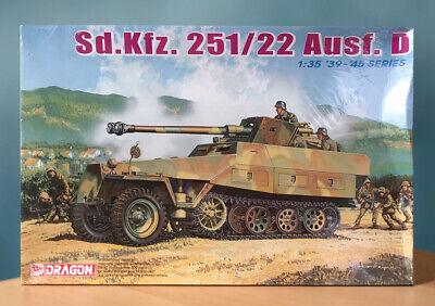 SEALED Dragon 1/35 Sd.Kfz.251/22 Ausf.D w/7.5cm PaK 40 Model 6248 Free Shipping