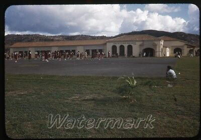 Caracas Girl - 1948 kodachrome Photo slide   Venezuela  #5 Caracas Normal School girls playing