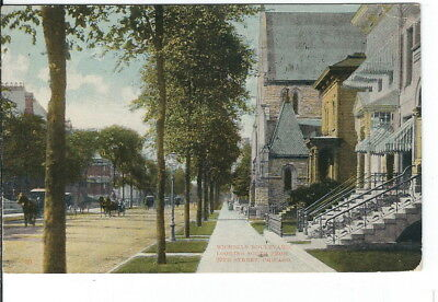 CE-288 IL Chicago Michigan Boulevard Looking South Divided Back Postcrd Illinois
