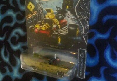 2014 Hot Wheels HALLOWEEN Kroger # 1 of 5 Car Set '57 Plymouth -