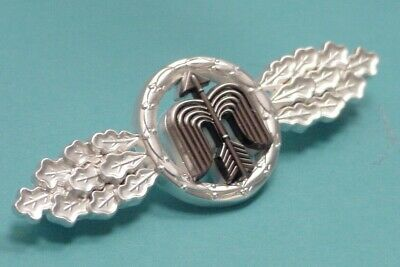 LUFTWAFFE FLYING CLASP – DAY FIGHTER – SHORT RANGE - SILVER - GFR PATTERN